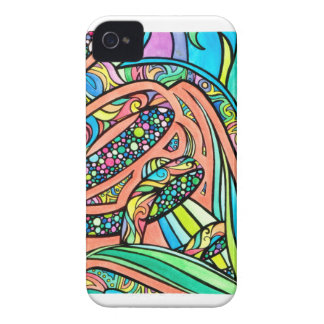 Blooming Ribbons Case-Mate iPhone 4 Case