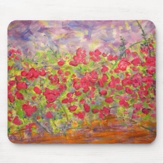 Blooming Roses Mouse Pad