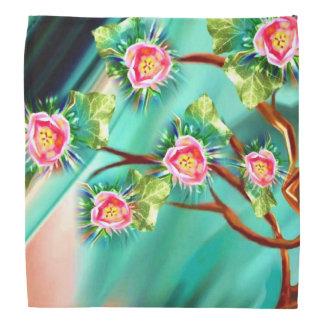 Blooming Spring Fantasy Tree Bandana