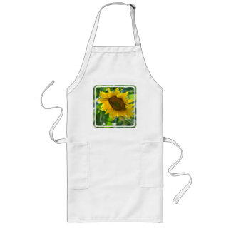 Blooming Sunflower Long Apron