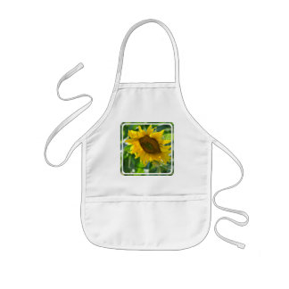 Blooming Sunflower Small Apron