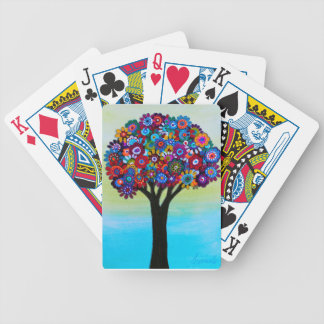 BLOOMING TREE BICYCLE PLAYING CARDS