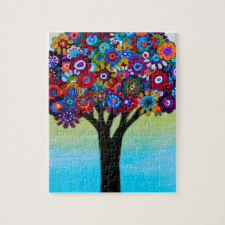 BLOOMING TREE JIGSAW PUZZLE