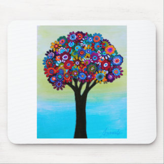 BLOOMING TREE MOUSE PAD