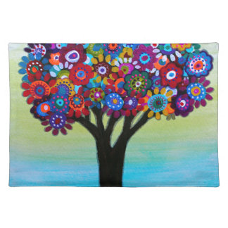 BLOOMING TREE PLACEMAT