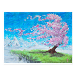 Blooming Tree Postcard
