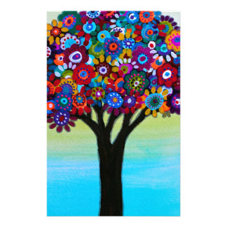 BLOOMING TREE STATIONERY
