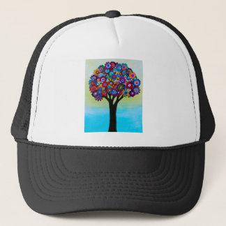 BLOOMING TREE TRUCKER HAT