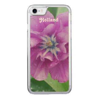Blooming Tulips in Holland Carved iPhone 7 Case