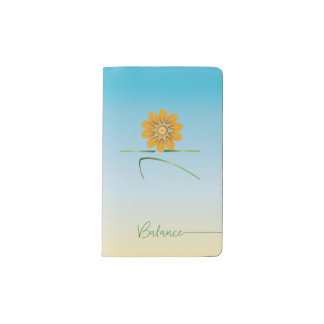 blooming warrior II small journal __ balance