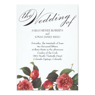 Blooming Wedding Invitation