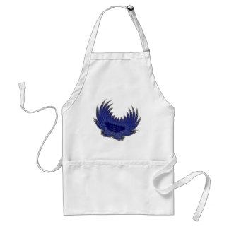 Blooming Wings blue Standard Apron