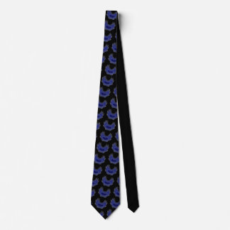 Blooming Wings blue Tie