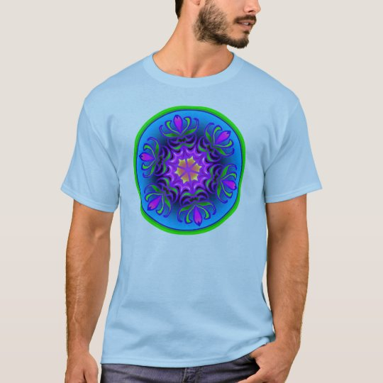 Bloom'n Blue  T-Shirt
