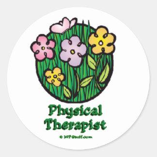Blooms 1 PT Round Sticker