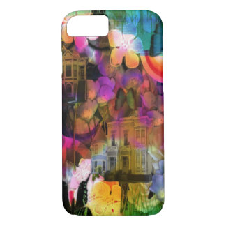 Blooms and Houses iPhone 7 case