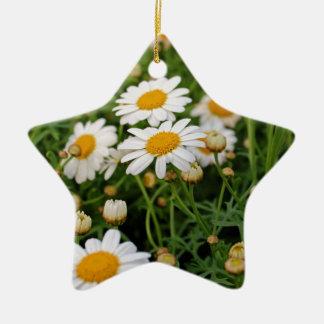 Blooms Boom Ceramic Star Ornament