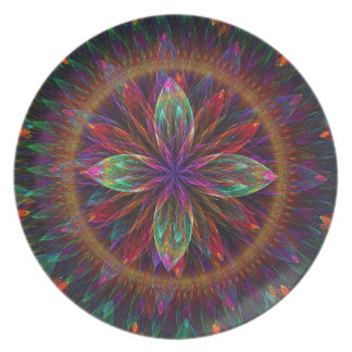 Blooms Delight #2 Melamine Plate