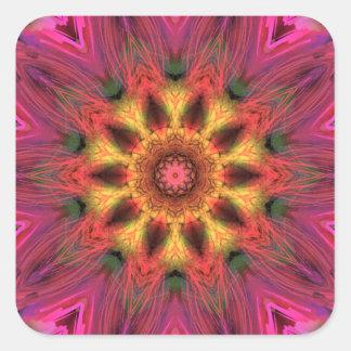 Blooms Square Sticker