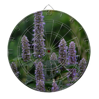Bloomspikes in the garden dart board