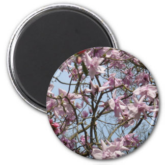 blossom 2 inch round magnet