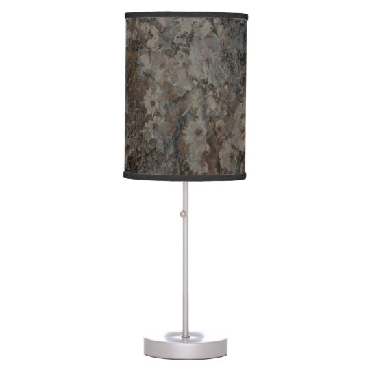 Blossom and Bark Table Lamps