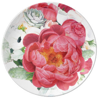 Blossom Beauties Large Plate