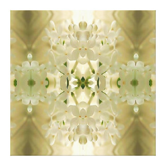 """Blossom Bouquet"" Mandala Canvas Print"