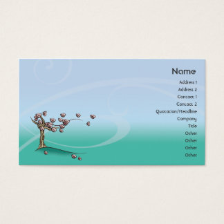 Blossom - Business Business Card