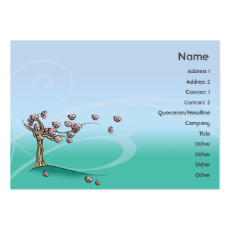 Blossom - Chubby Large Business Card