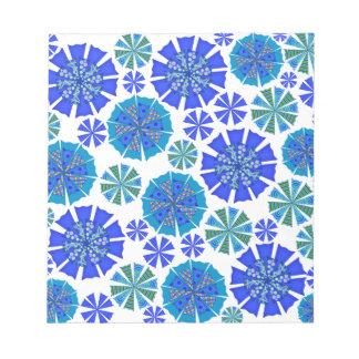 Blossom. Cornflowers Notepad