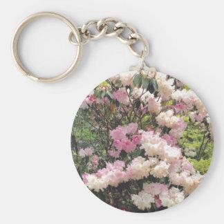 Blossom flowers key rings