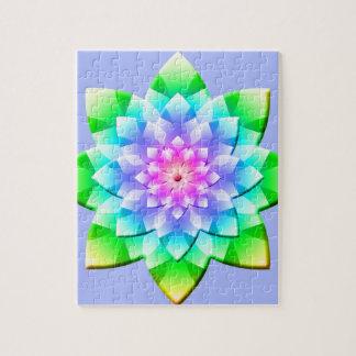 Blossom Mandala Puzzle