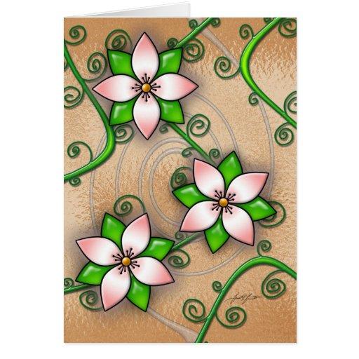 Blossom (Orange) Card