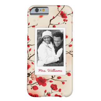 Blossom Oriental Style Painting | Add Photo Barely There iPhone 6 Case