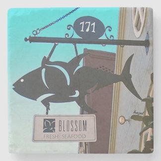 Blossom Restaurant Charleston, SC. Stone Coaster
