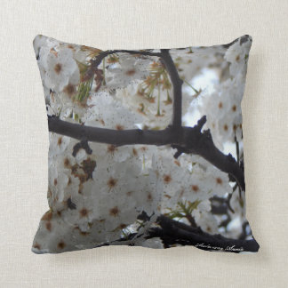 Blossom Tree Throw Pillow