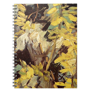 Blossoming Acacia Branches Vincent van Gogh. Notebooks