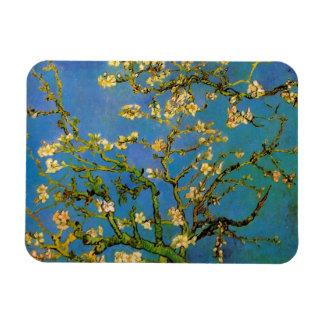 Blossoming Almond Tree by Van Gogh, Fine Art Rectangular Photo Magnet
