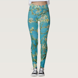 Blossoming Almond Tree by Van Gogh Leggings