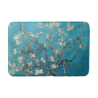 Blossoming Almond Tree by Vincent van Gogh Bath Mat