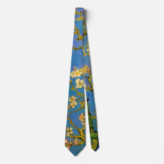 Blossoming Almond Tree by Vincent van Gogh Tie