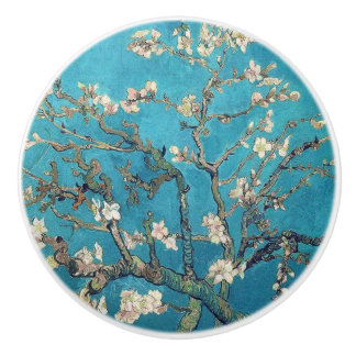 Blossoming Almond Tree Fine Art Van Gogh Ceramic Knob