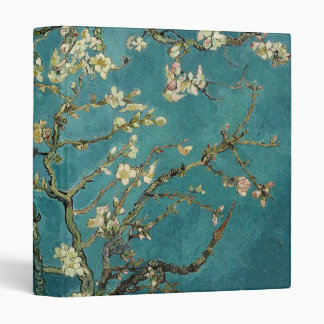 Blossoming Almond Tree - Van Gogh 3 Ring Binders