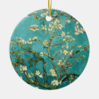 Blossoming Almond Tree Vintage Floral Van Gogh Ceramic Ornament