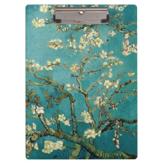 Blossoming Almond Tree Vintage Floral Van Gogh Clipboard