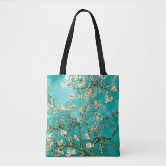 Blossoming Almond Tree Vintage Floral Van Gogh Tote Bag