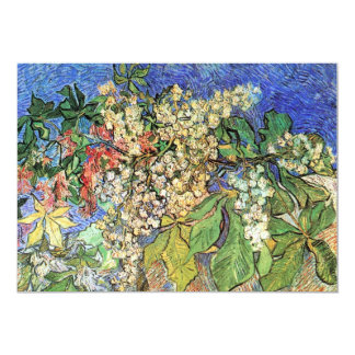 Blossoming Chestnut Branches by Van Gogh, Fine Art Card