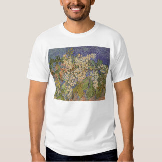 Blossoming Chestnut Branches by Vincent van Gogh Tshirts