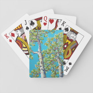 Blossoming CreativiTree Playing Cards